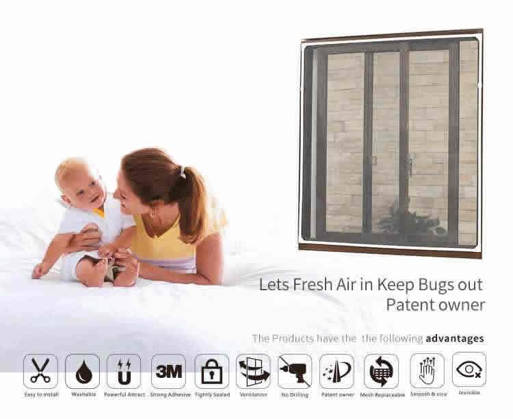 DIY window screen supply company on sale